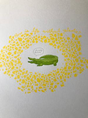 """It's Pretty Fantastic"" letterpress print"