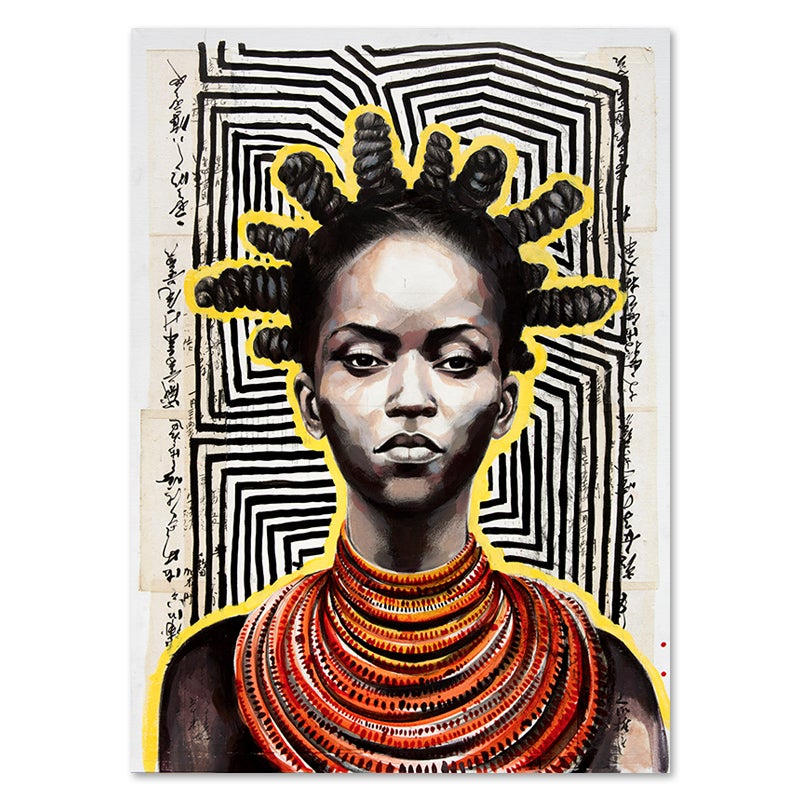 "Image of Canva Art Print - ""Matifou"""