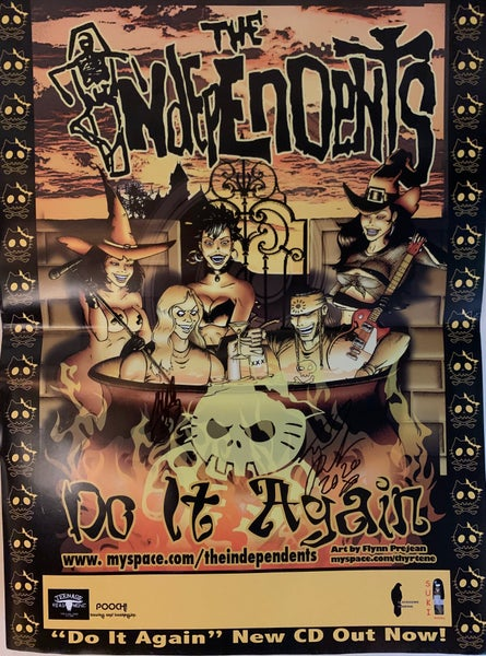 Image of Limited edition Autographed Do It Agai promo poster
