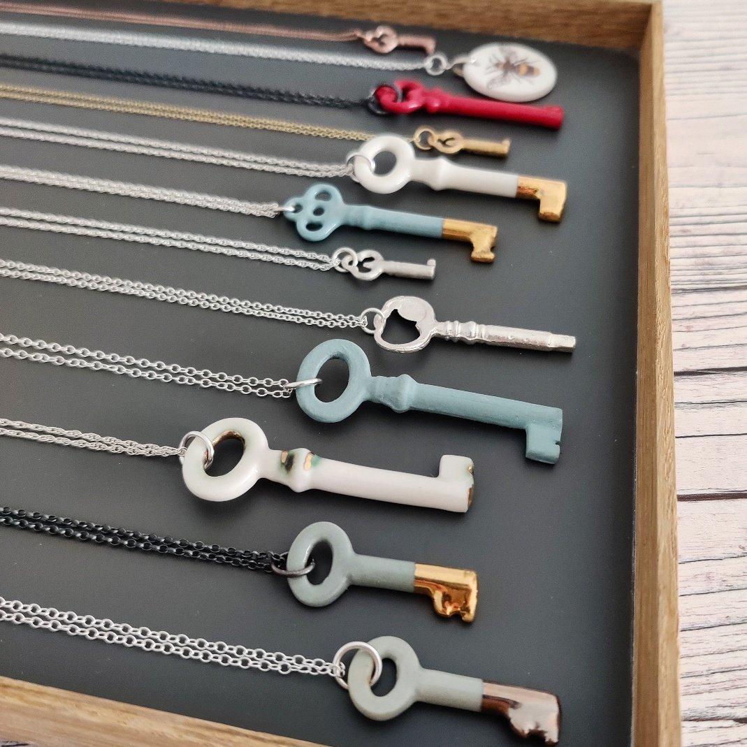Key necklaces