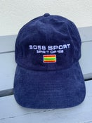 Image of SO58 SPORT  Heritage Cord Cap Navy