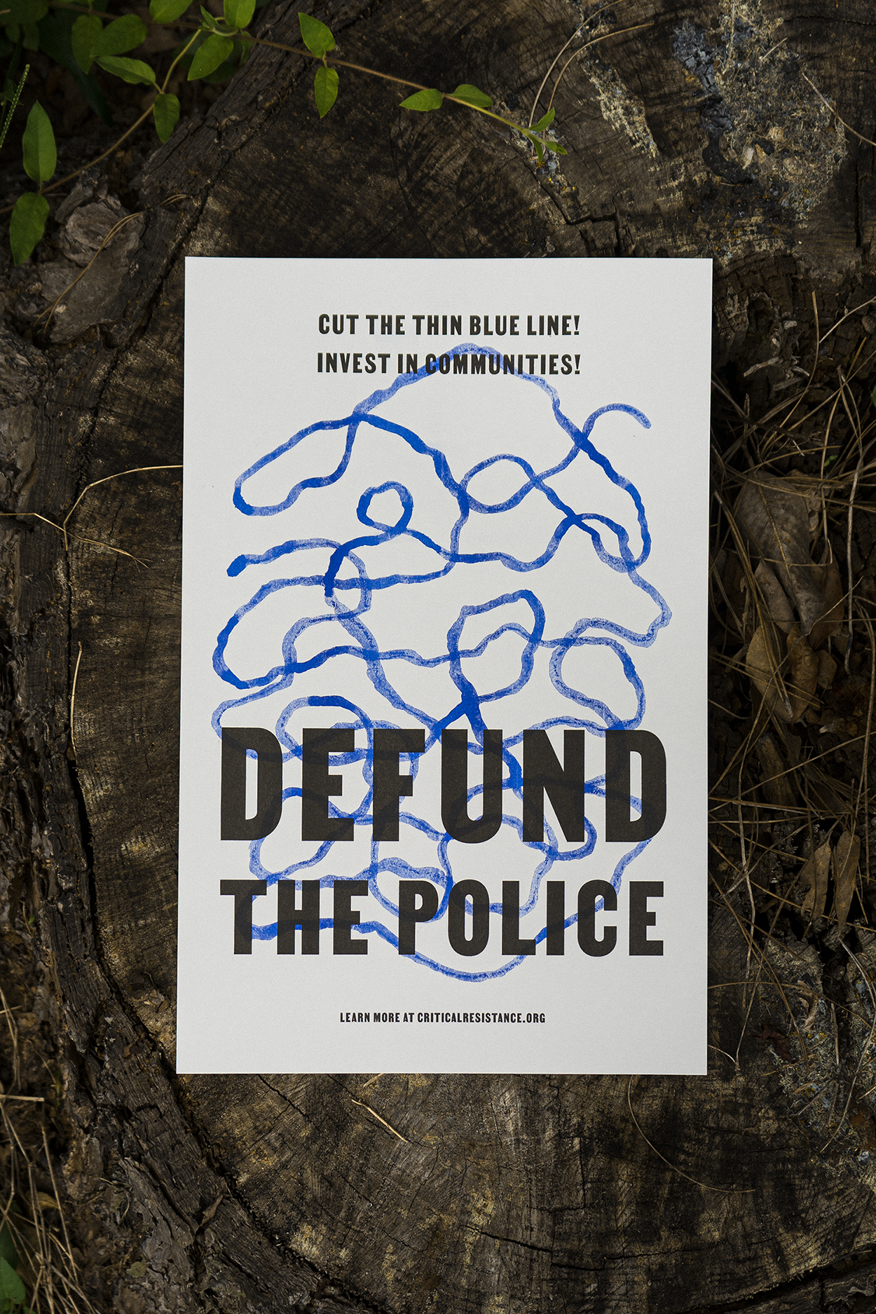 Image of DEFUND THE POLICE: Critical Resistance Fundraiser