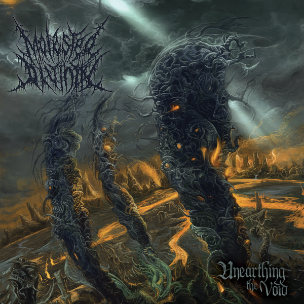 "Image of MOLESTED DIVINITY ""UNEARTHING THE VOID"" CD"