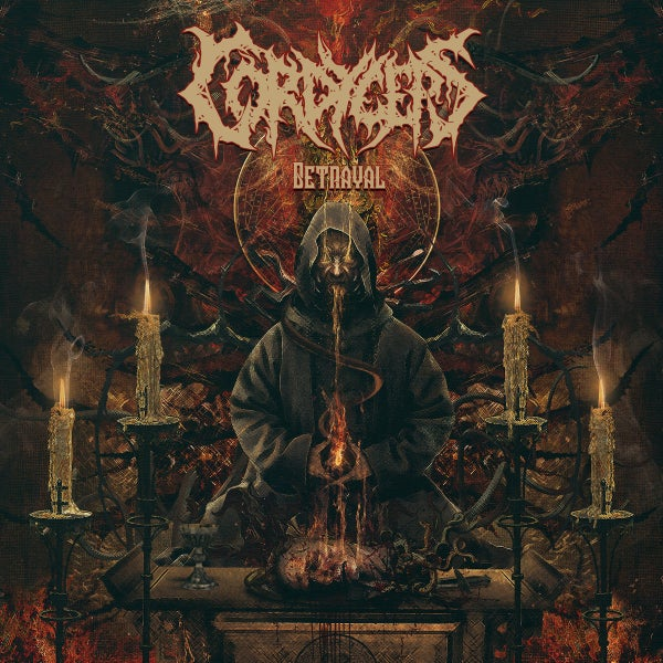 Image of CORPDYCEPS - Betrayal CD Digi-Pack