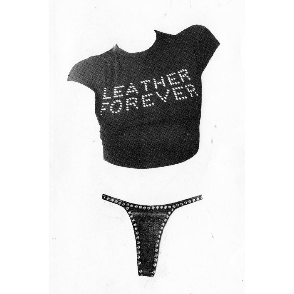 Image of LEATHER FOREVER T-SHIRT