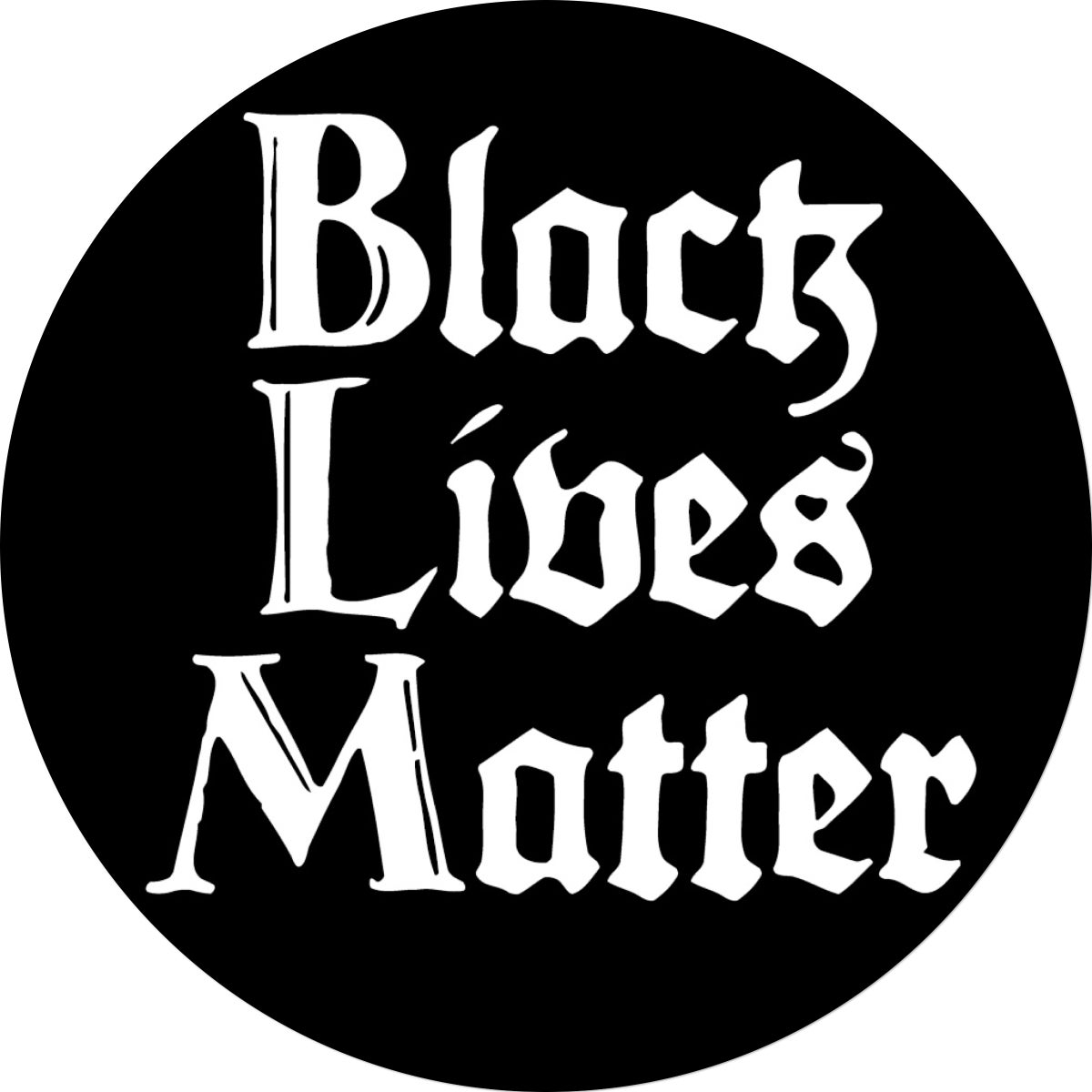 Image of Black Lives Matter Sticker (Fundraiser!)