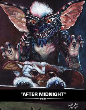 AFTER MIDNIGHT - PRINT