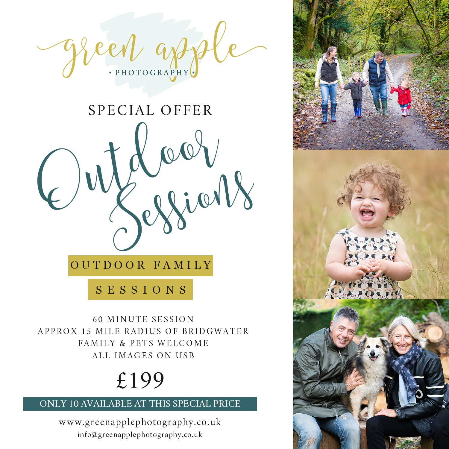 Image of SPECIAL OFFER - Outdoor Session