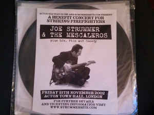Image of Joe Strummer and the Mescaleros - Friday 15th November 2002 Acton Town Hall, London 2xLP