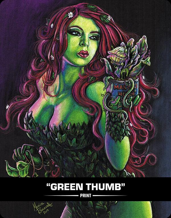 GREEN THUMB - PRINT