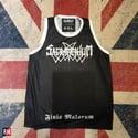 "Sacramentum ""Finis Malorum"" Black Tank Top Shirt"