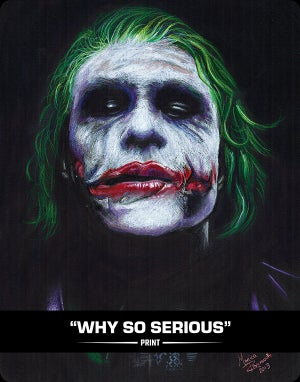 WHY SO SERIOUS - PRINT