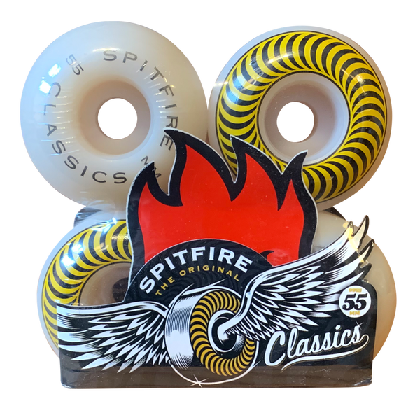 Image of Spitfire Classics Yellow - 55mm 101A