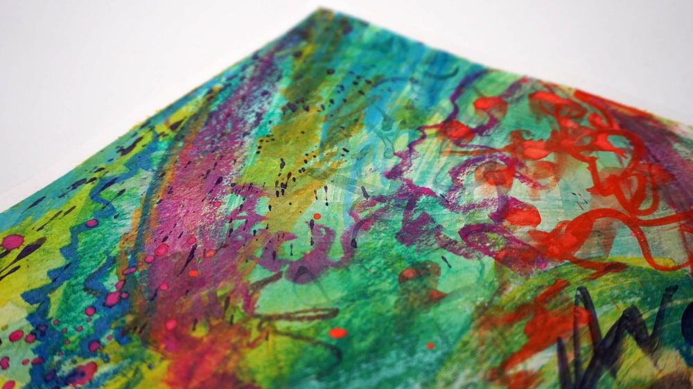 """Rhythmic Shift"" - Original Watercolor Painting"