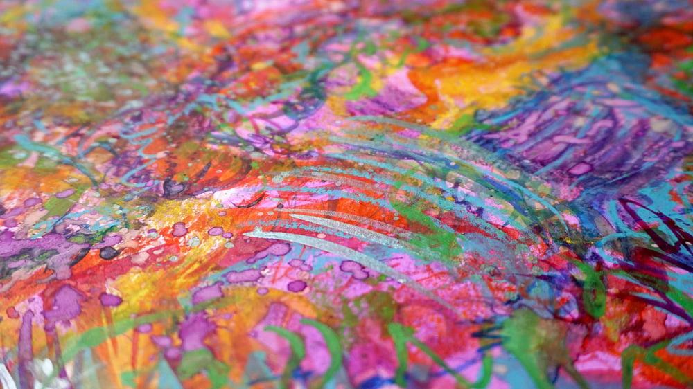 """""""Festival"""" - Original Watercolor Painting"""