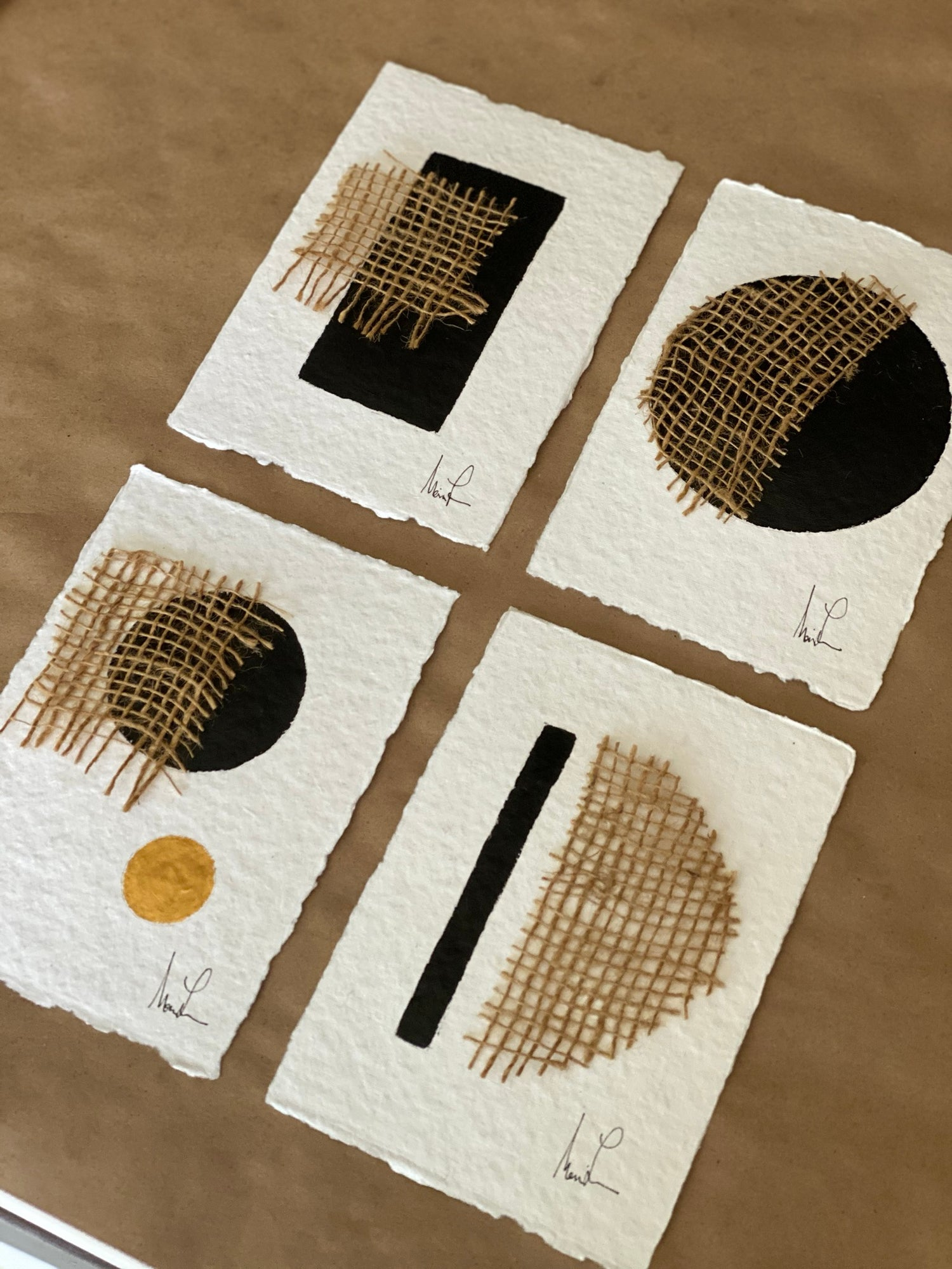 Image of ML Cotton Rag Paper and Jute (Limited Quantity)