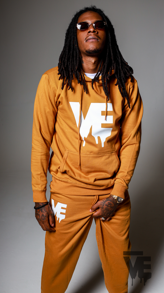 Image of Men's Mustard VE Logo Sweatsuit
