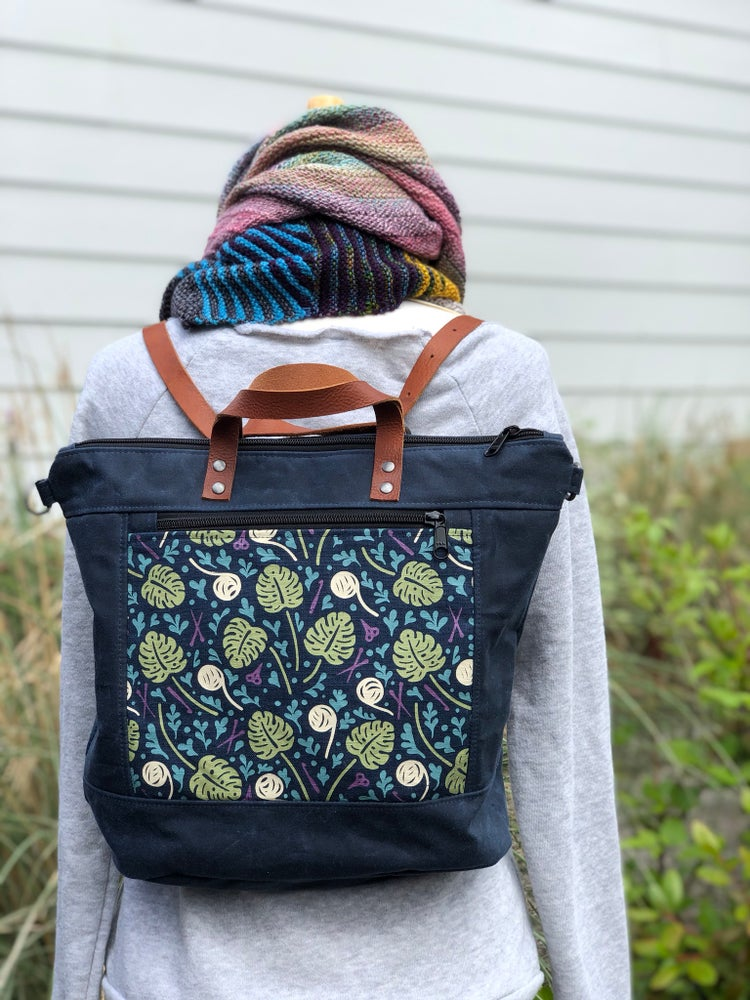 Image of Plant/Fiber Lady Convertible Bag