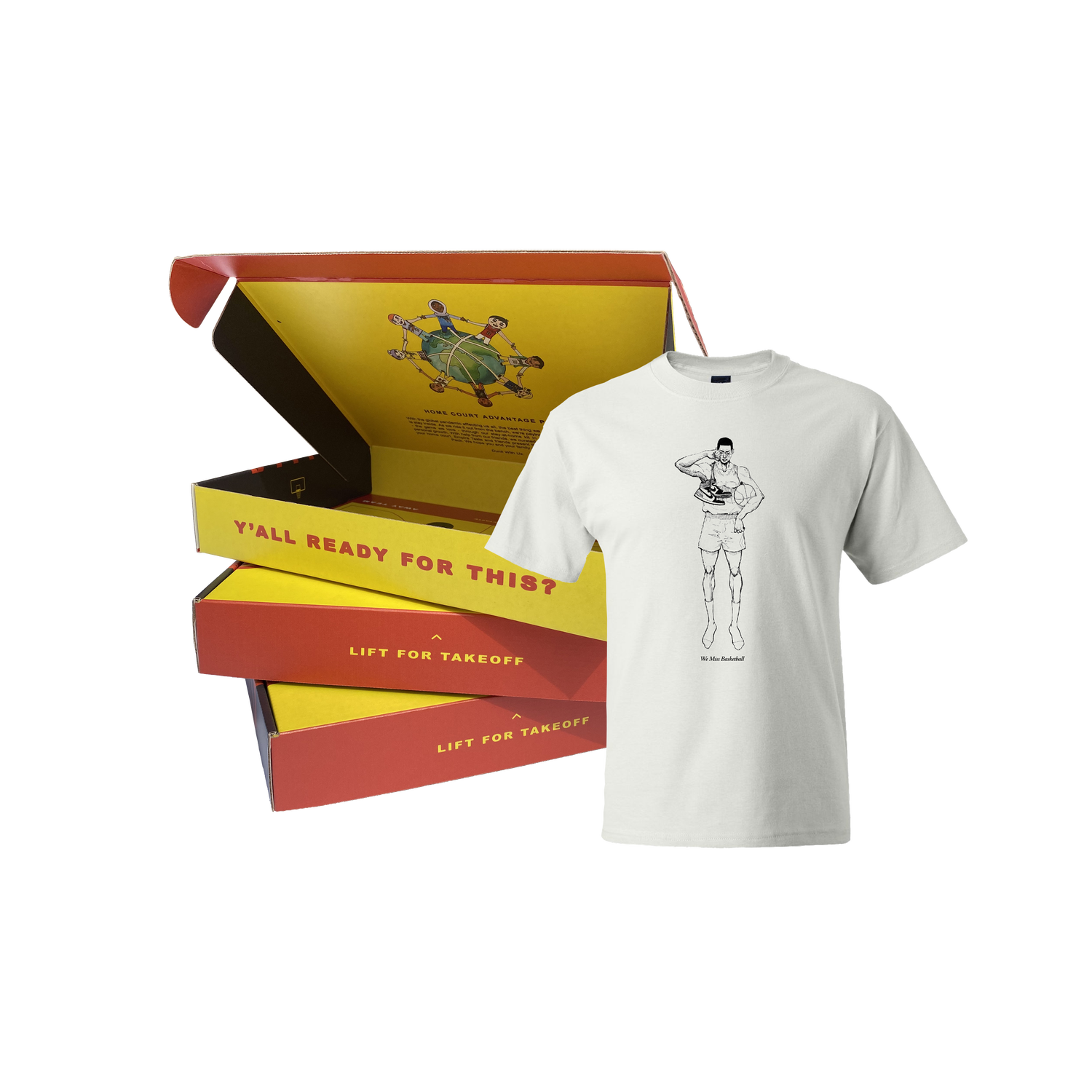 Image of Home Court Advantage Pack Bundle (with T-Shirt)
