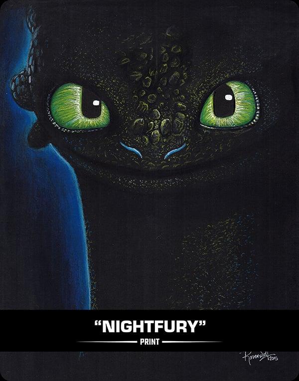NIGHTFURY - PRINT