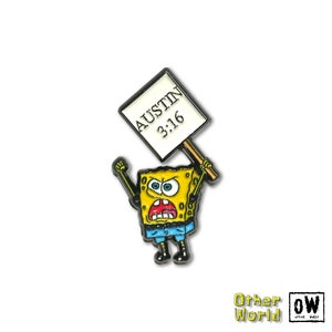 Image of Stone Cold Sponge Bob pin