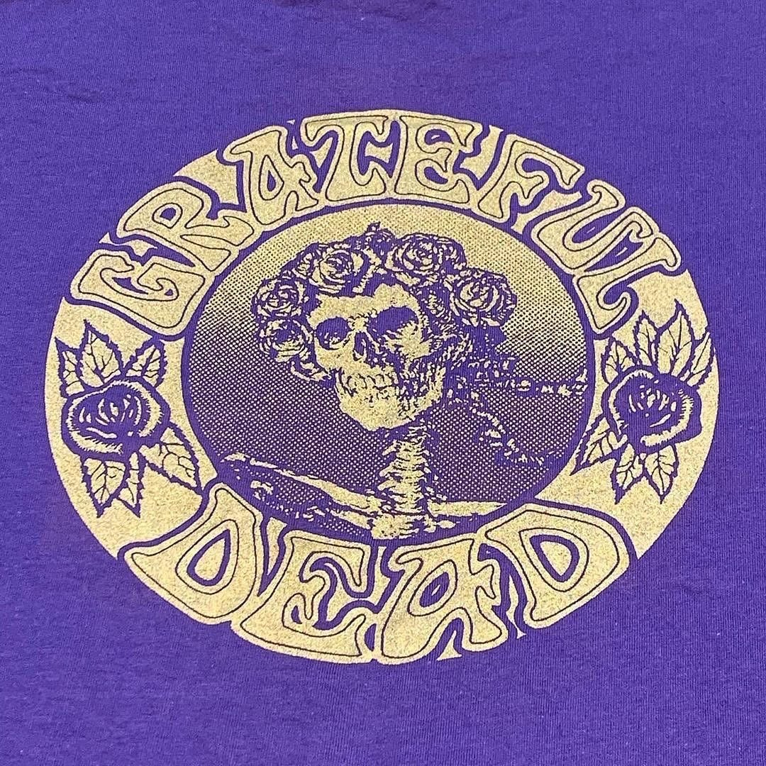 Large Original Vintage Grateful Dead 1990's Seva Short Sleeve