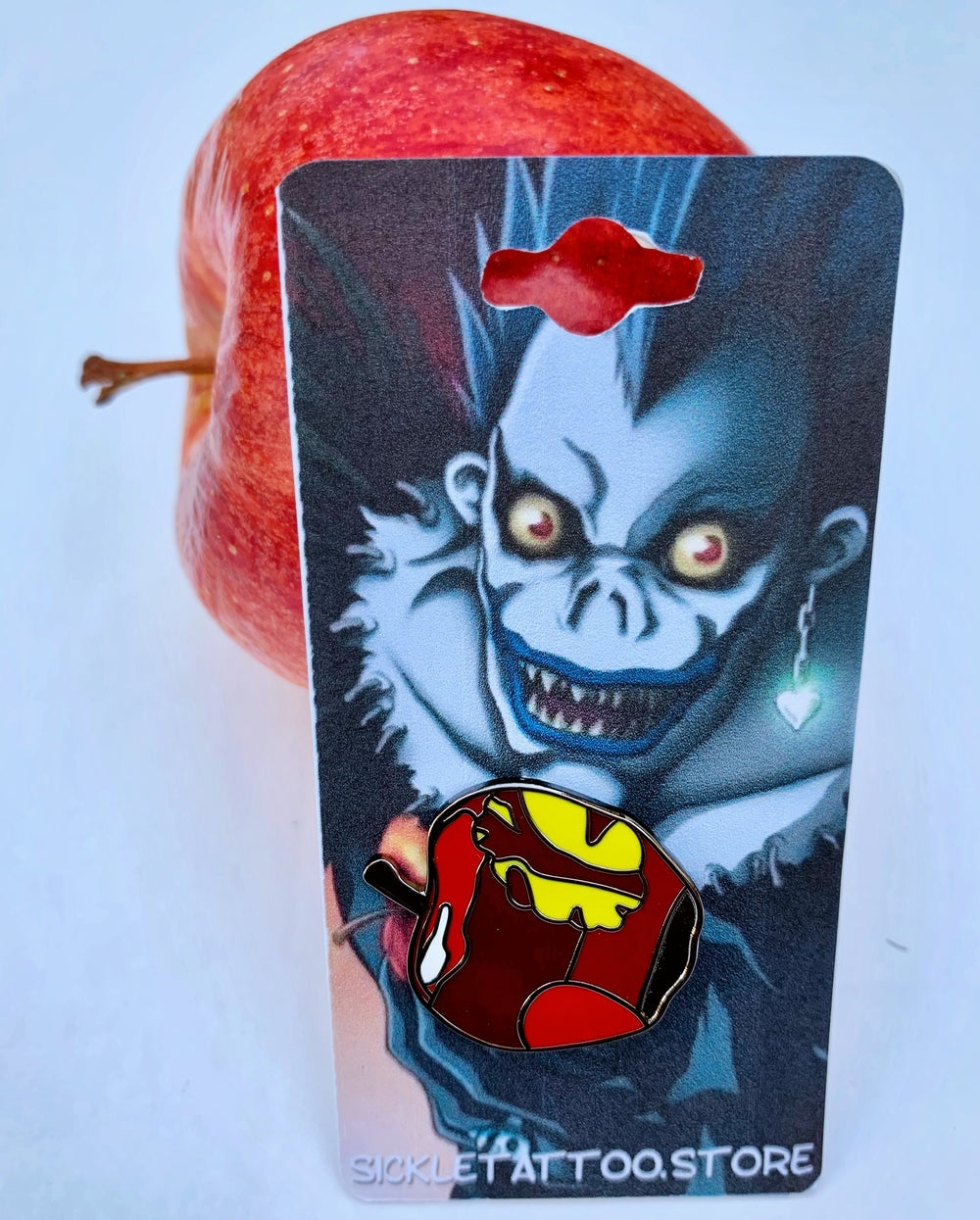 Image of Death Note Apple Pin (DNAP)
