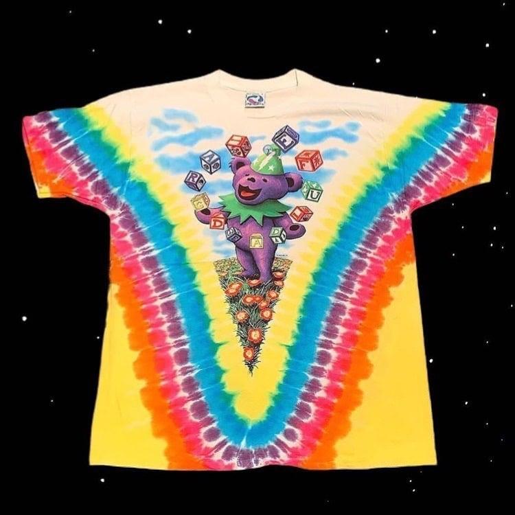 Original Vintage Grateful Dead Spring Tour Juggling Bears Short Sleeve Tee!