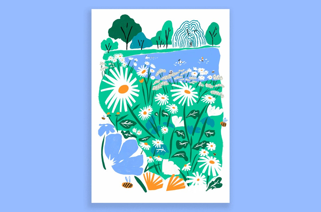 Image of Summer Song - A2 Archive Print