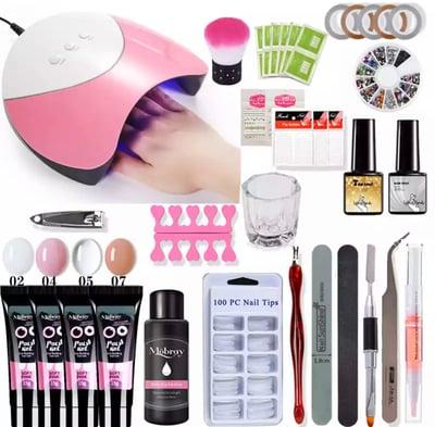 Image of Poly gel nail kit uk