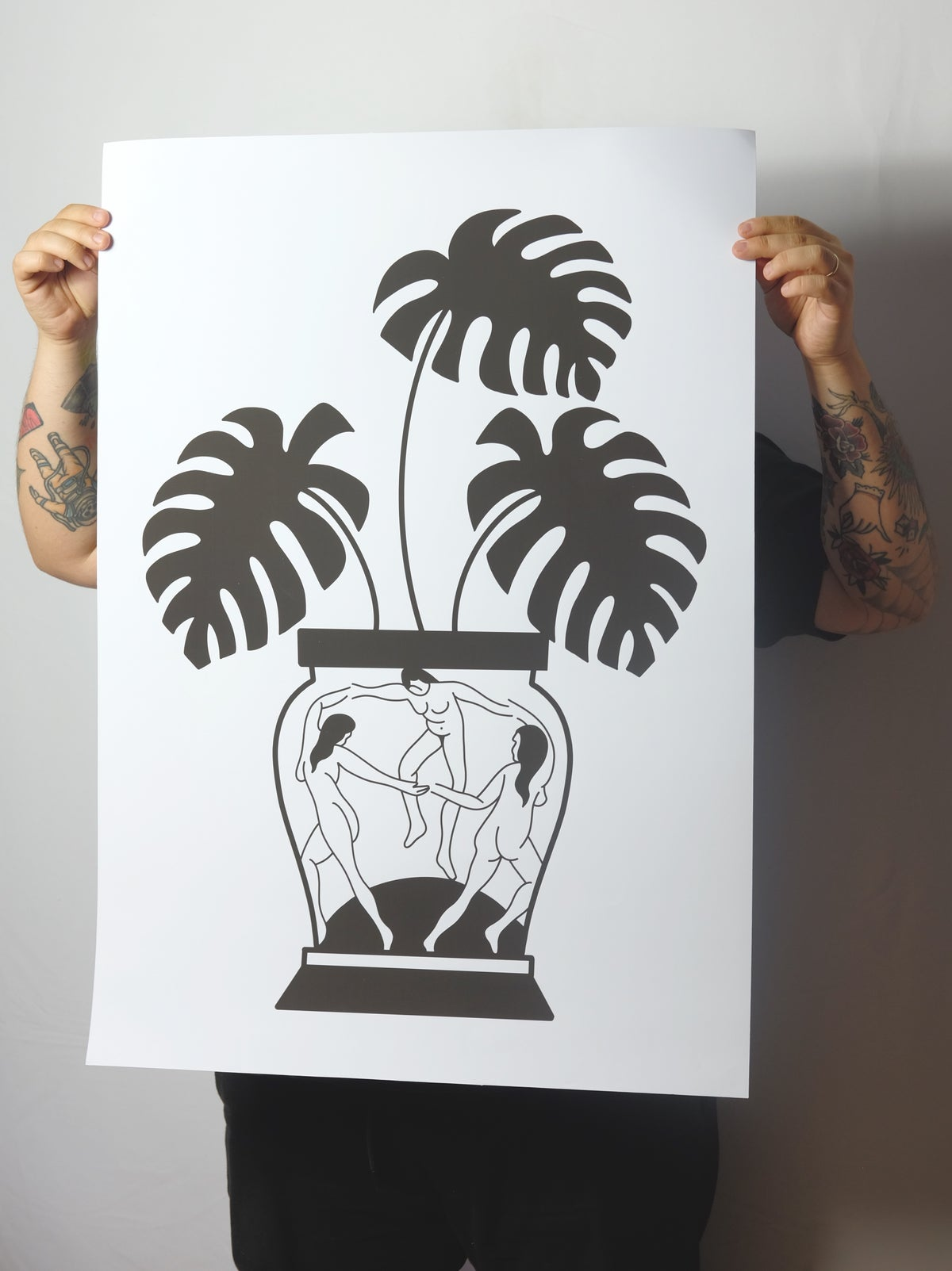 Image of MATISSE PLANT - PRINT