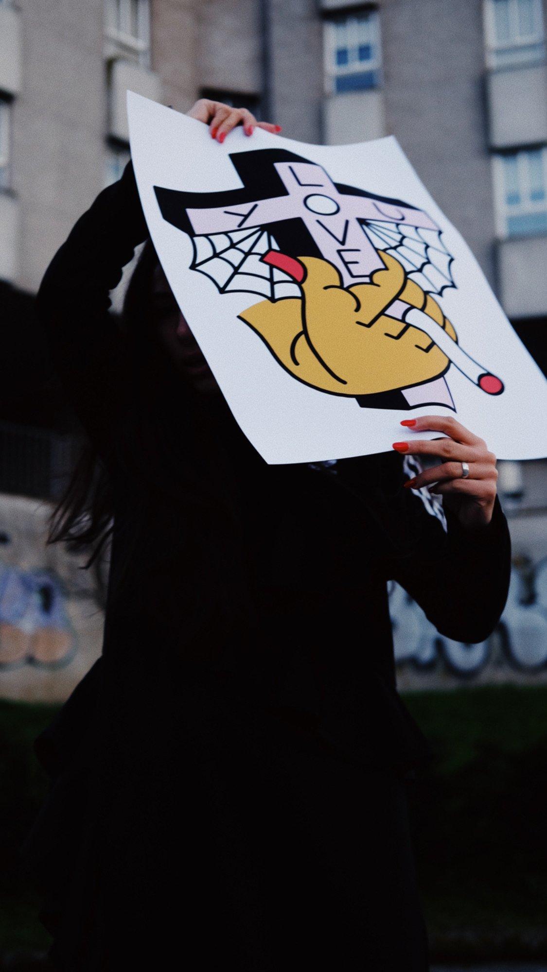 Image of LOVE YOU - PRINT