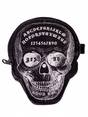 Image of BANNED APPAREL SKULL OUIJA COIN PURSE