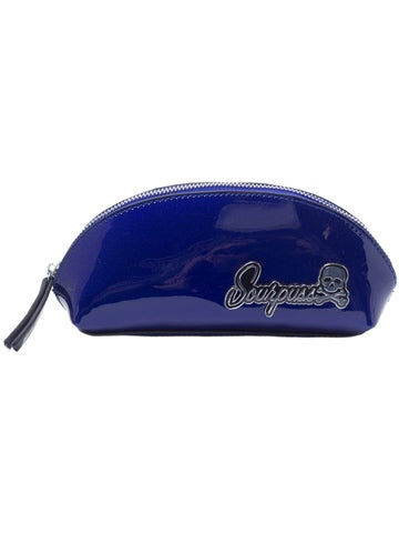 Image of SOURPUSS SUPER FLOOZY MAKE-UP BAG Blue