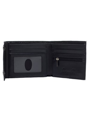 Image of SOURPUSS Sabrina Wallet BLACK