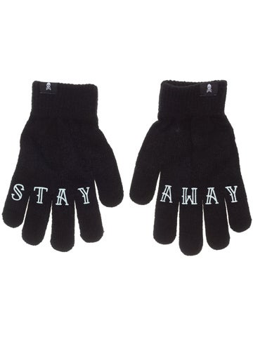 Image of SOURPUSS Knit Gloves STAY AWAY