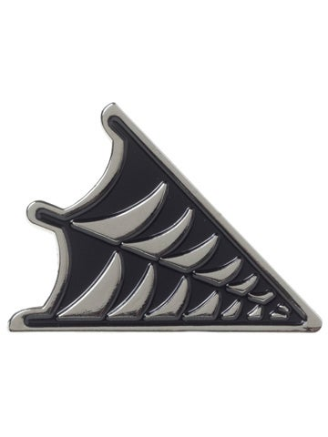 Image of SOURPUSS Spiderweb Enamel Pin