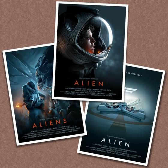 Image of Alien / Aliens Poster Pack