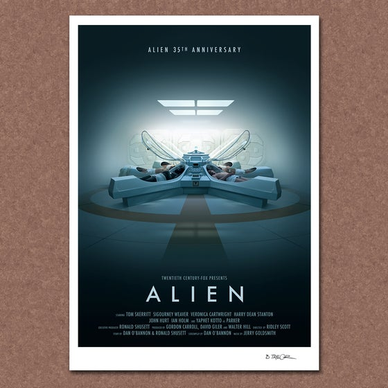 Image of Alien 35th Anniversary Poster