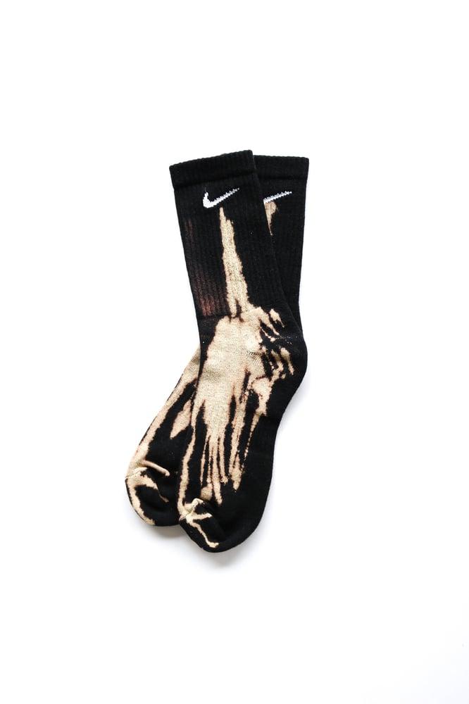 Image of Nike Socks Bleached
