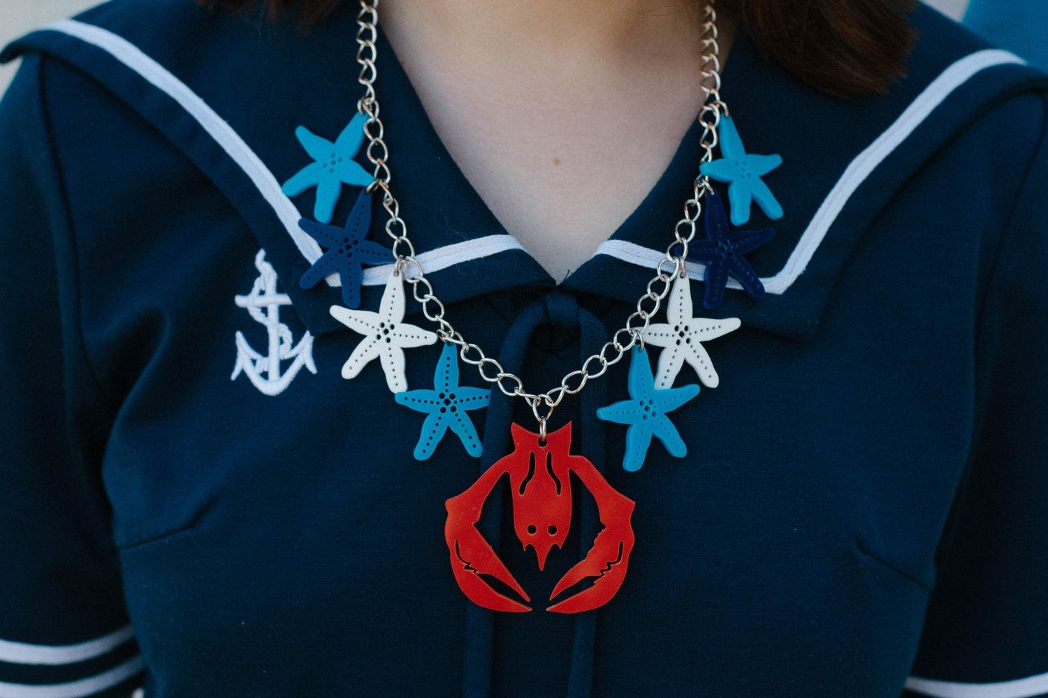 Image of Lobster by the Sea Necklace