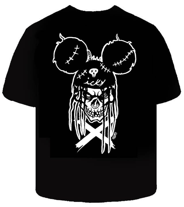Image of Size med -ICKY MOUSE - MENS SHIRT -LIMITED LEFT