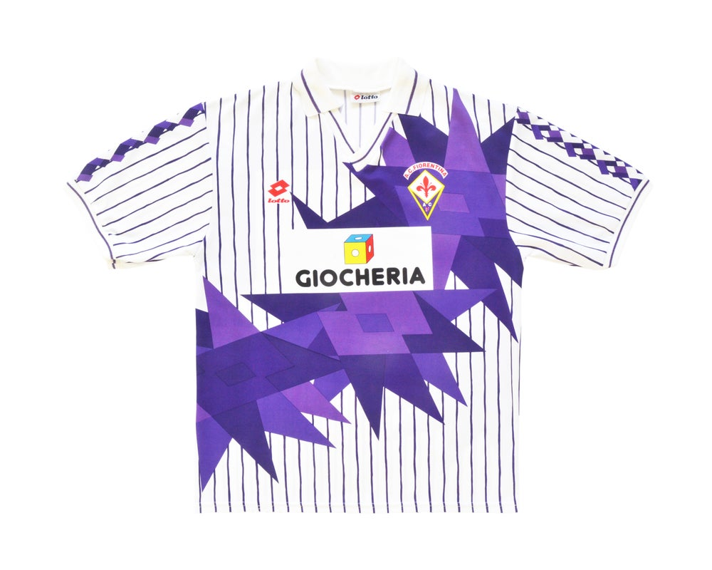 Image of 1991-92 Lotto Fiorentina Away Shirt L