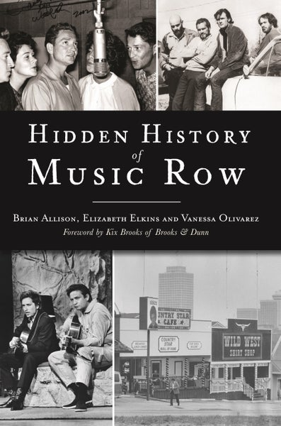 Image of Signed Hidden History of Music Row book