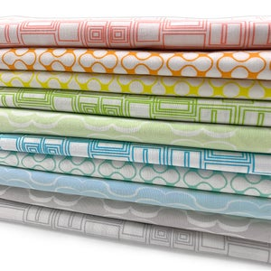 Good Vibes 10 Low Volumes (Fat Quarters,  1/2 Yard or Full Yard Bundle)