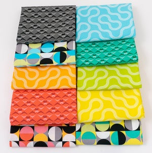 Good Vibes 10 Saturated Prints 1/2 Yard or Full Yard Bundle