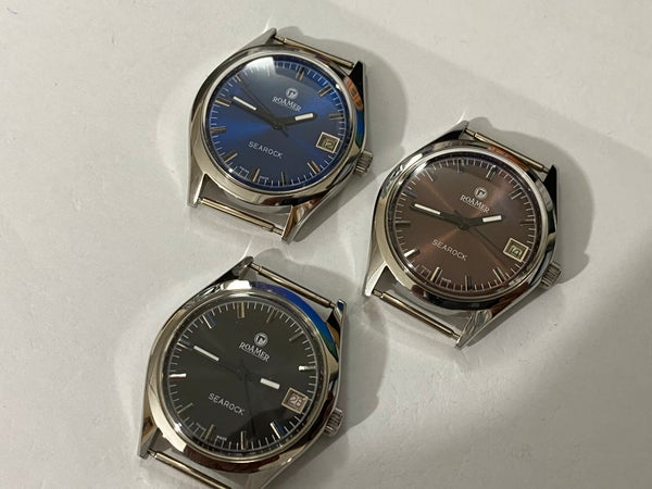 Image of LOT OF 3 X STUNNING Roamer Manual Wind Gents/Mens WATCHES,Mint (RM-10)