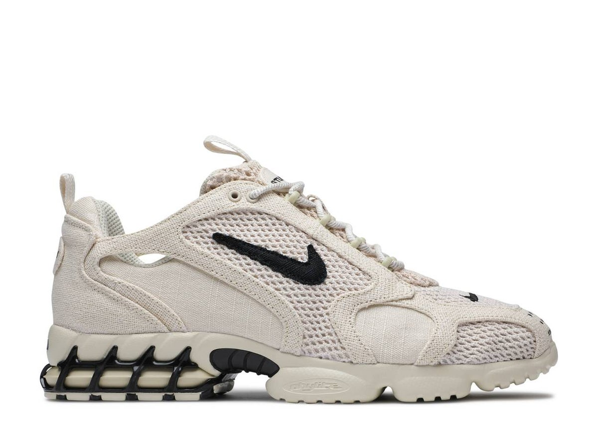"""Image of STUSSY X AIR ZOOM SPIRIDON CAGED """"FOSSIL"""""""