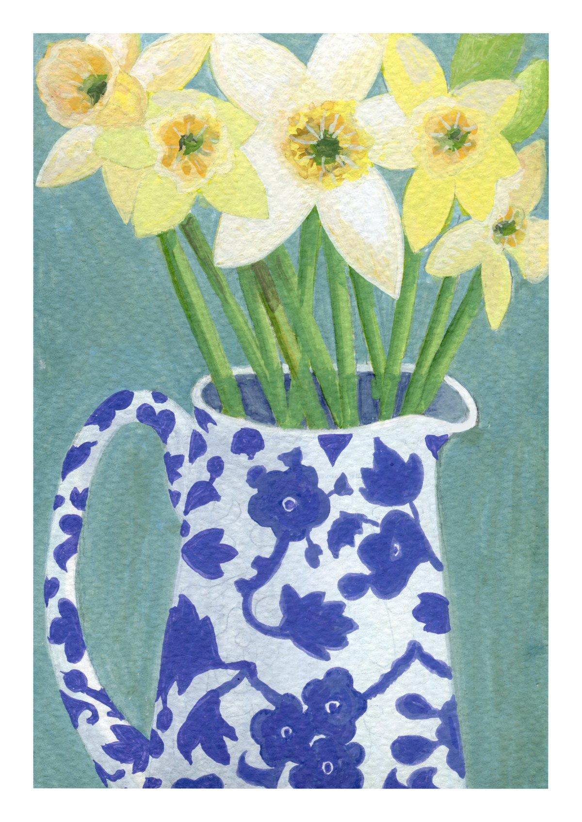 Daffodils in Arden Jug
