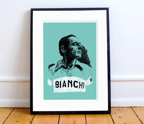 Image of Fausto portrait (Celeste) print A4 or A3 - By Jason Marson